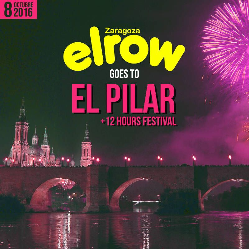 Concierto de Elrow en Zaragoza 2016      , River Sound Festival, Parking Norte Expo - Fiestas del Pilar-Conciertos Zaragoza