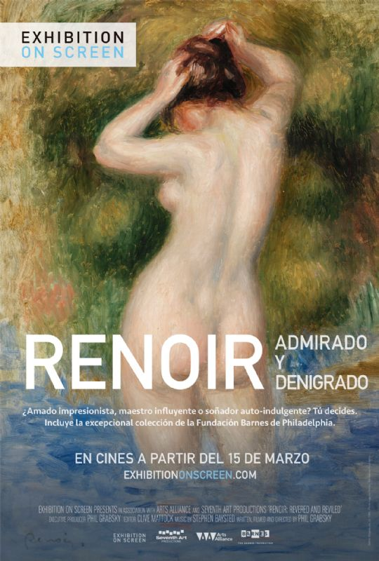 'Renoir, revered and reviled, from the Barnes Foundation', de Phil Grabsky - Filmotecas/Cineclubs en  Zaragoza, Centro Joaquín Roncal-Filmotecas/Cineclubs Zaragoza