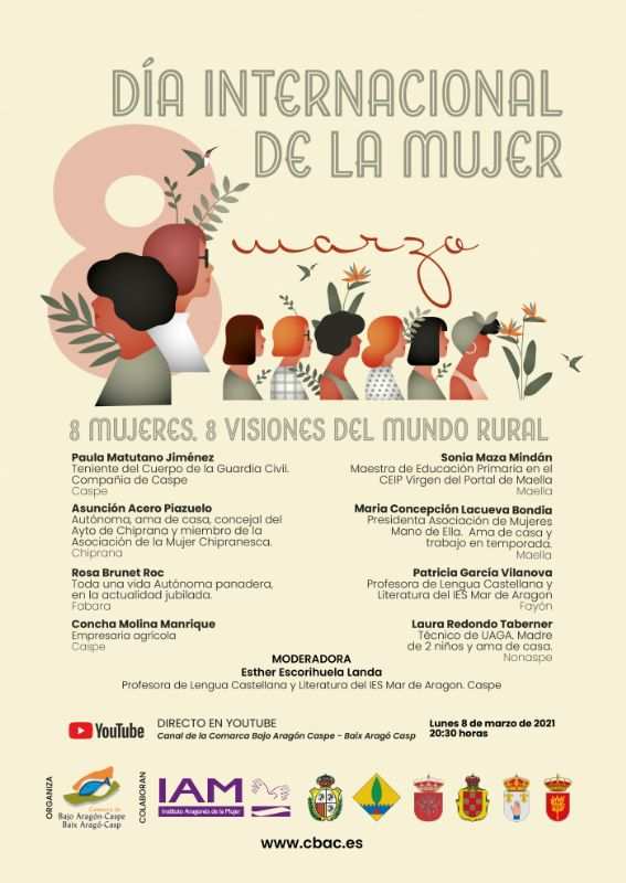 8 Mujeres, 8 visiones del mundo rural - Conferencias en    , Web / streaming-Conferencias