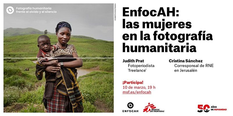 EnfocAH: las mujeres en la fotografía humanitaria - Conferencias en    , Web / streaming-Conferencias