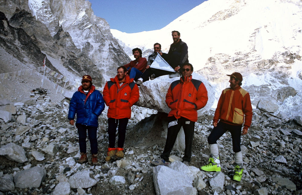 Everest 1991. Foto: archivo de Lorenzo Ortas